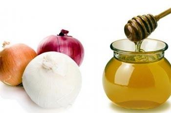 С медом и луком от перхоти