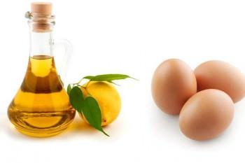 Масло и яйца в масках