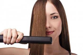 Выпрямление волос дома