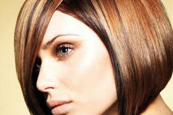 Волосы темного оттенка