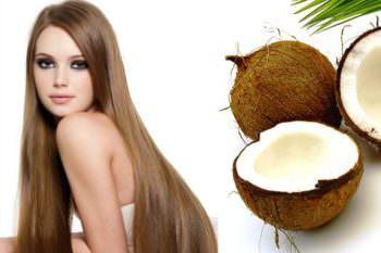 Действие масла кокоса на волосы