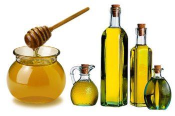 Мед и масло авокадо